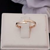 Ring ~ Gouden 14 karaats Ring met Design