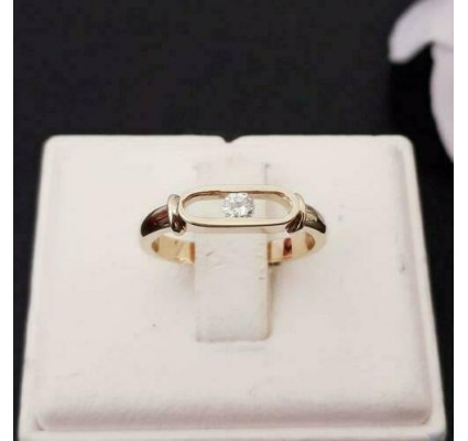 Ring ~ Gouden Ring met 1 Diamant