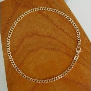 Armband ~ ALONZA Gouden 14 karaats gourmet Armband beschikbaar tot en met 23cm
