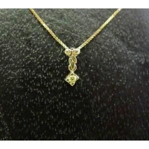 Hanger ~ ADALICIA Gouden 14 karaats hanger met gele saffier