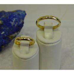 Trouwringen ~ Gouden 14 karaats Gladde trouwringen