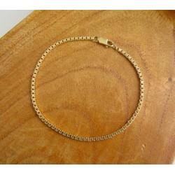 Armband ~ ALDO Gouden 14 karaats Venetiaans Armband beschikbaar tot en met 18.5cm