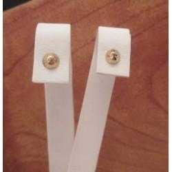 Oorbellen ~ ABELLA Gouden Oorbellen met design