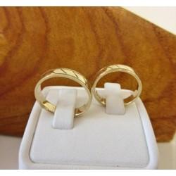 Trouwringen ~ Gouden Design Trouwringen
