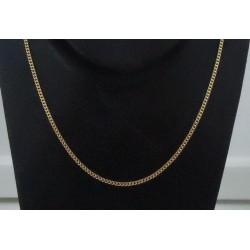 Ketting ~ Gouden 14 karaats gourmet ketting beschikbaar tot en met 39cm