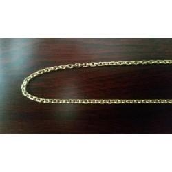 Ketting ~ Gouden 14 karaats Anker schakel ketting beschikbaar tot en met 60cm