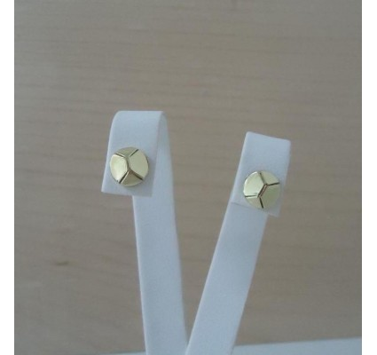 Oorbellen ~ Gouden 14 karaats Design Oorbellen
