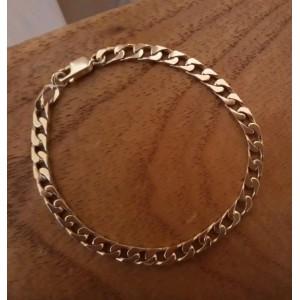 Armband ~ ALBERTO Gouden 14 karaats Gourmet armband Beschikbaar tot en met de lengte 25cm