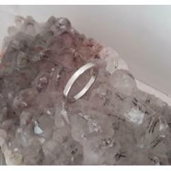 Ring ~ Witgouden 14 karaats klassieke gladde ring