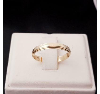 Ring ~ Gouden 14 karaats klassieke Gladde Ring