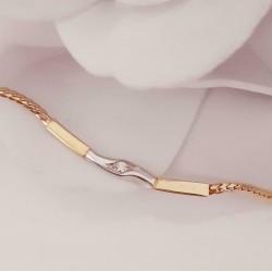 Ketting ~ Gouden 14 karaats Collier met Diamant
