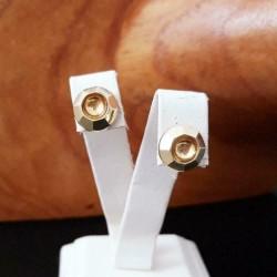 Oorbellen ~ ACELYNN Gouden 14 karaats Oorbellen met Design