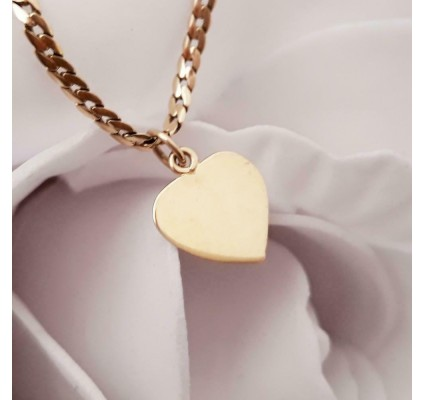 Hanger ~ ADALINE Gouden 14 karaats Hart hanger