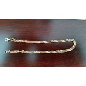 Armband ~ ALLEGRA Gouden 14 karaats gedraaide schakel Armband beschikbaar tot en met 23cm