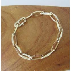 Armband ~ AIDA Gouden 14 karaats Closed Forever armband beschikbaar tot en met 20cm