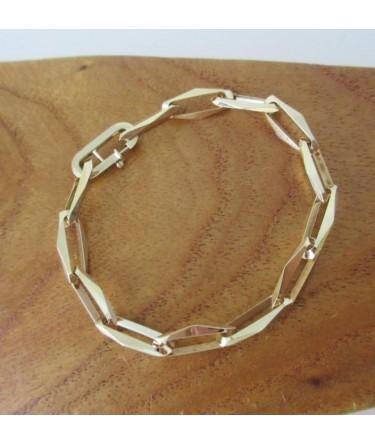Armband ~ Gouden 14 karaats Closed Forever armband beschikbaar tot en met 20cm