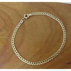 Armband ~ Gouden 14 karaats gourmet schakel Armband beschikbaar tot en met 19cm