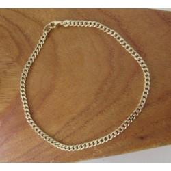 Armband ~ BENEDETTO Gouden Ronde schakel Armband beschikbaar tot en met 23.5 cm