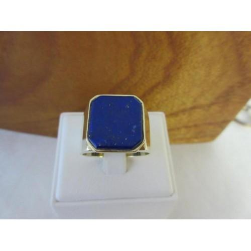 stoere gouden ring