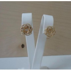 Oorbellen ~ AUDREE Gouden 14 karaats Design Oorbellen