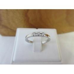 Ring ~ FILA Witgouden Rijring met Diamant