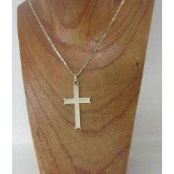 Hanger ~ Gouden 14 karaats grote Kruis hanger