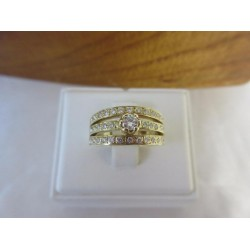Ring ~ CATERINA Gouden Ring met Diamant