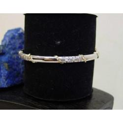 Armband ~ CARINA Witgouden 14 karaats armband
