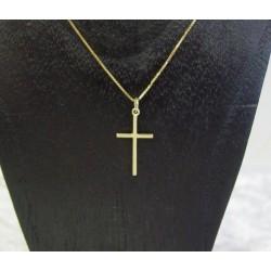 Hanger ~ Gouden 14 karaats Kruis Hanger