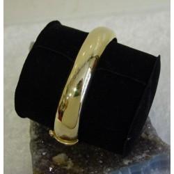 Armband ~ AGATA Gouden 14 karaats brede en gladde Armband