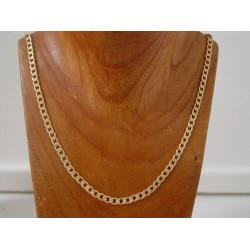 Ketting ~ Gouden 14 karaats Schakel Collier beschikbaar tot en met 60cm