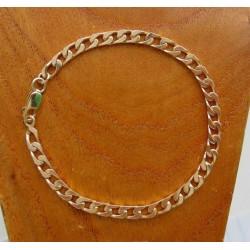 Armband ~ BASILIO Gouden 14 karaats Gourmet Armband beschikbaar tot en met 19cm
