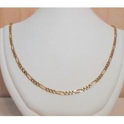 Ketting ~ Gouden 18 karaats Schakel Ketting beschikbaar tot en met 65cm